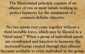 mastermind priciple