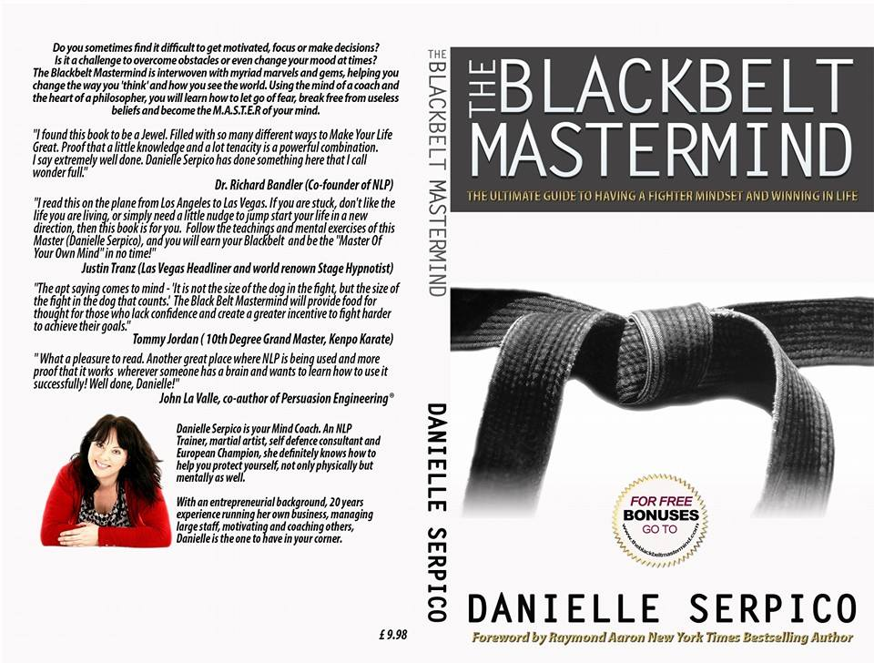 nlp training courses ireland neuro linguistic programming blackbelt mastermind book cover