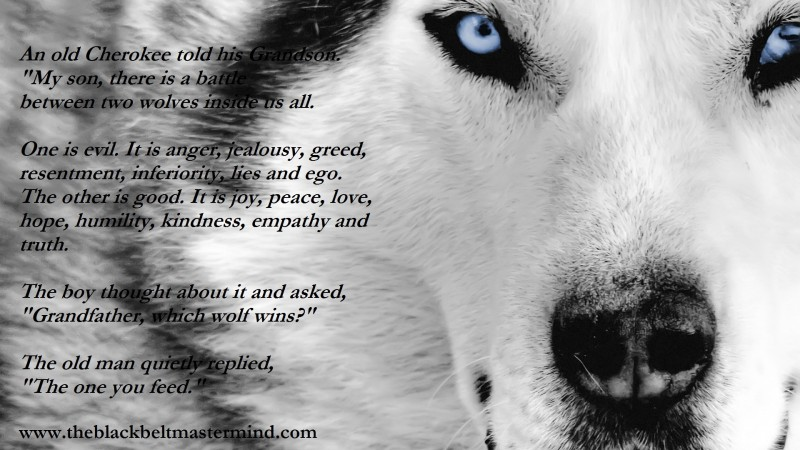 What wolf is within you? - NLP Training to Change your Mind & Life
